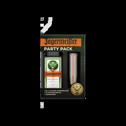 Liqueur/plantes JAGERMEISTER 35° 1,75 litres Partykit+20 gobelets