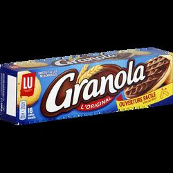 Biscuits chocolat au lait LU GRANOLA, 200g