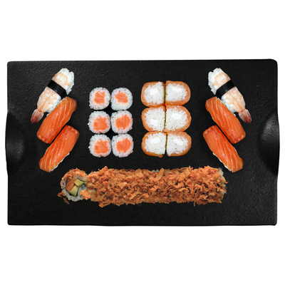 6 salmon roll,6 maki saumon,4 sushi saumon,2 sushi