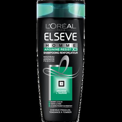 Shampooing pour homme Arginine Resist 3 ELSEVE, 250ml