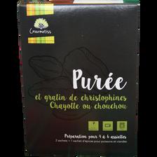Purée de christophine GOURMETISS, boîte de 130g