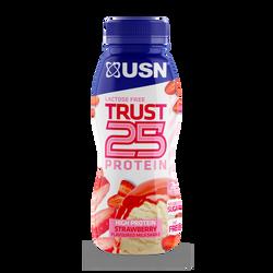 Prêt à boire protéiné allégée fraise ULTIMATE SPORT NUTRITION, 33cl