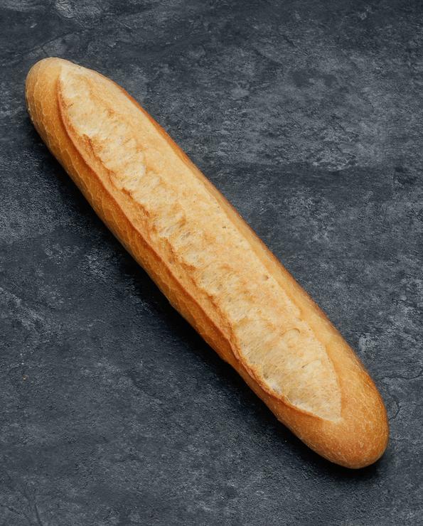 Demi baguette, 4 pièces +2 offertes, 750g