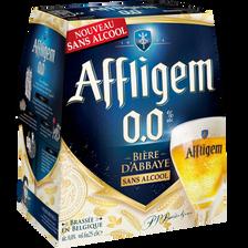 Affligem Bière Sans Alcool Blonde , 0,00°, 6x25cl