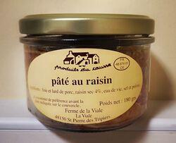 Pâté au raisin Produits du Causse 180g