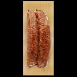 Saucisse de Montbéliard IGP à cuire, 2 pièces, 300g