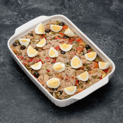 Salade Niçoise au thon,
