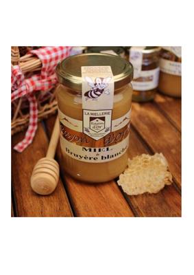Miel de bruyère pot verre 350g RAYON D'OR