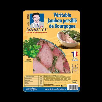 Jambon persillé de Bourgogne SABATIER, tranche de 200g