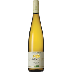 Vin d'Alsace blanc Riesling bio WOLFBERGER, 75cl