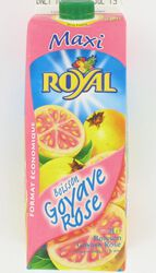 Boisson goyave rose ROYAL, brick 2l