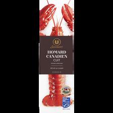 Homard Canadien (homarus americanus) cuit MSC U SAVEURS, 350g