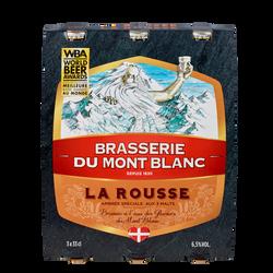 Bière rousse MONT BLANC, 6,5°, 3x33cl