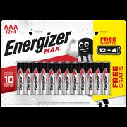 Energizer Piles Lr03 - Aa Energizer Max, Pack De 16