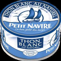 Thon blanc au naturel PETIT NAVIRE, 140g