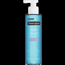 Démaquillant gelée-lactée hydratante hydro boost NEUTROGENA, flacon pompe de 200ml