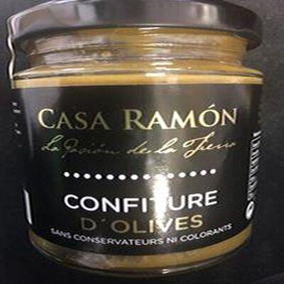 Confiture d'olives 250g