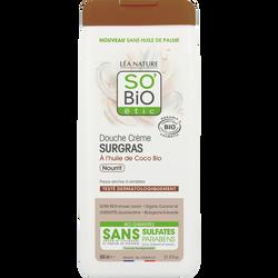 Douche crème surgras, à l'huile de coco bio, nourrit 650ml