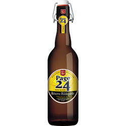 Bière blonde 6.9° Page 24 Réserve Hildegarde, bouteille de 75cl