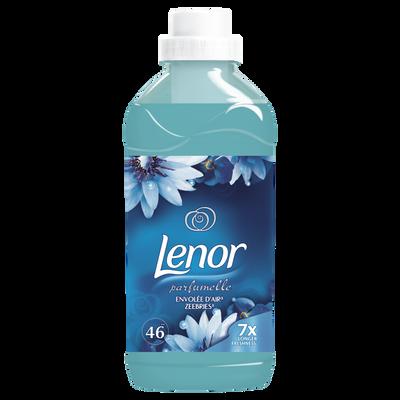 Assouplissant sensoriel envolée d'air frais LENOR, bidon de 1,15 litre, 46 doses