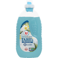 Lessive diluée liquide escale à tahiti U, 27 lavages, micro capsule, 1,485l
