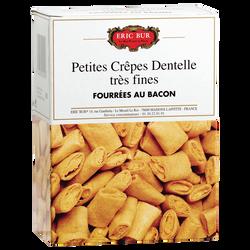 Crêpes dentelle fourées au bacon ERIC BUR, 125g