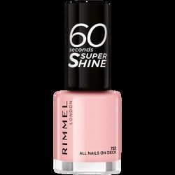 Vernis à ongles 60 seconds super shine colour block 722 all nails on deck RIMMEL,  8ml
