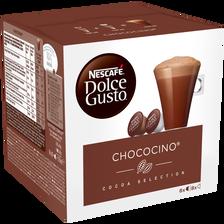 Dosettes de chococino DOLCE GUSTO Nestlé, x16 dosettes soit 256g