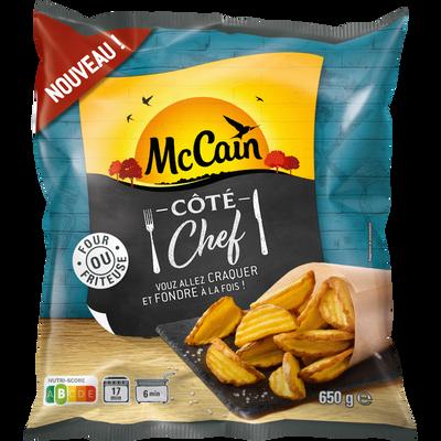 potatoes côte chef MC CAIN, sachet de 650g