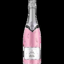 Boisson gazeuse à base de vin rosé Pinot Noir sans alcool Foussy, bouteille de 75cl