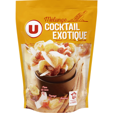 Mélange cocktail exotique U, paquet de 120g