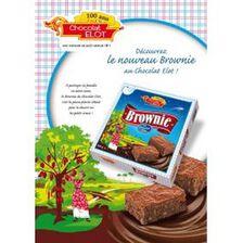 Brownie au chocolat, ELOT, paquet 285g