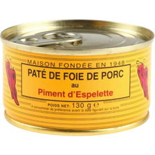 Pâté de foie de porc au piment d'Espelette LOU GASCOUN, 130g