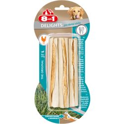 Os à mâcher dental delight sticks x3, 8 IN 1, 75g