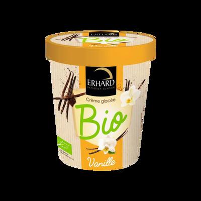 Crème glacée vanille bio, ERHARD, 250g
