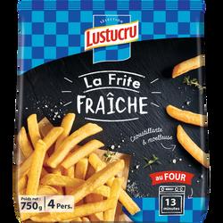 Frites fraîches LUSTUCRU, 750g