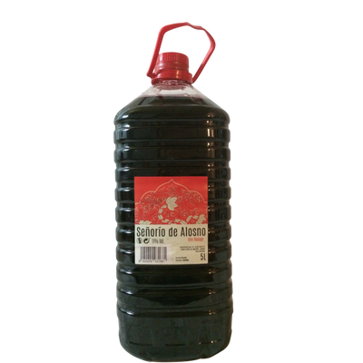 Vin rouge de table espagne Senorio de Alosno, fontaine à vin de 5l
