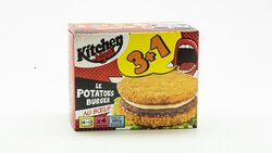 Potatoes burgers, PASSION FROID, x 4