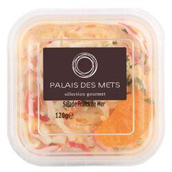 SALADE FRUITS DE MER 120G - PALAIS DES METS
