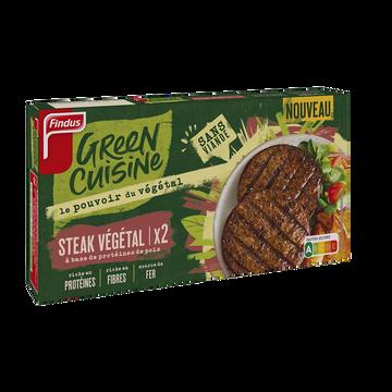 Findus Steak Végétal Pois Findus 200g