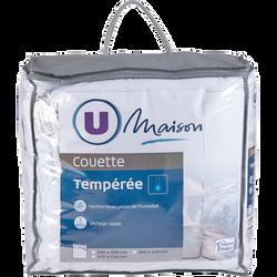 COUETTE TEMPÉRÉE TOP COOL 260 X240 CM U MAISON
