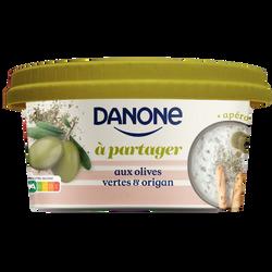 Spécialité laitière salée à partager taux olives vertes et à l'origanDANONE 170g
