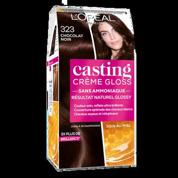 L'Oréal Coloration Permanente Ton Sur Ton Casting Crème Gloss Chocolat Noir N°323