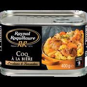 Raynal & Roquelaure Coq À La Bière Lardons Et Torsades Raynal Et Roquelaure, Boîte De 400g