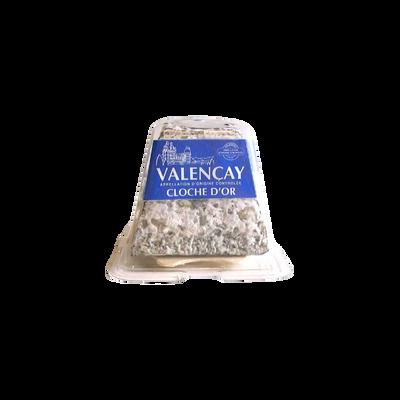 Valencay minicave AOP au lait cru de chèvre 23% de MG,CLOCHE D'OR, 220g