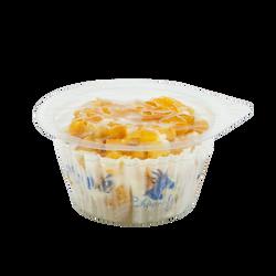 Fromage frais au lait pasteurisé enrobé Abricot, 15,1%MG,  80g