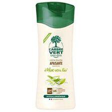 crème douche apaisante aux extraits d'aloé vera bio l'arbre vert 250m