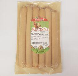 Hot dog pimenté pré-cuite MAN DELICE, 6x70g (420g)