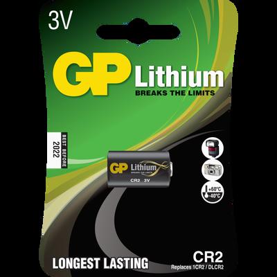 PILE LITHIUM CR2 GP 3703 CR2-SOUS BLISTER