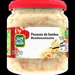 Pousses de bambou SUZI WAN, bocal de 100g